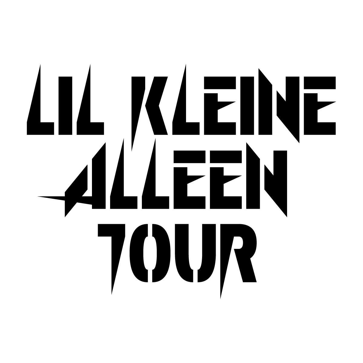Alleen Tour logo - zwart
